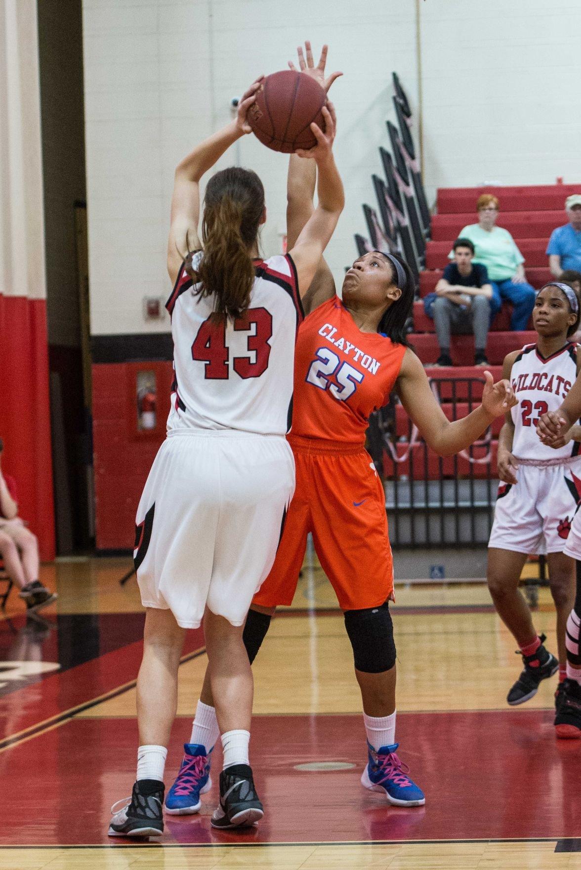 Clayton at Hazelwood West girls basketball