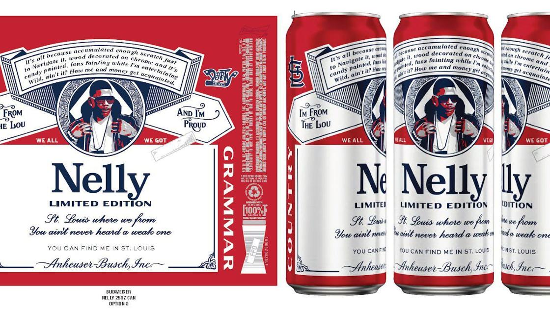 Nelly to appear on Budweiser can: 'It's a little overwhelming' - STLtoday.com