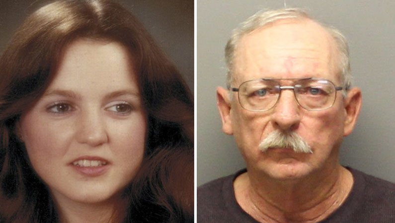 Victim and suspect in her killing