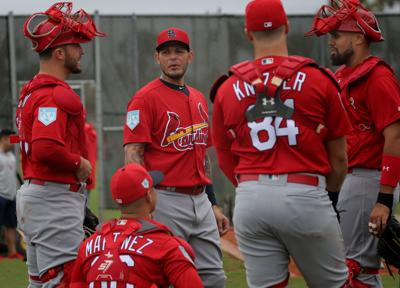 3b42ee7d790 Shildt is fine with Molina not catching for a while
