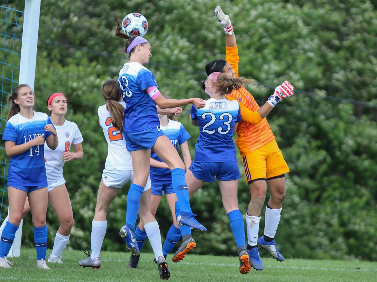 Clayton vs. Ladue girls soccer