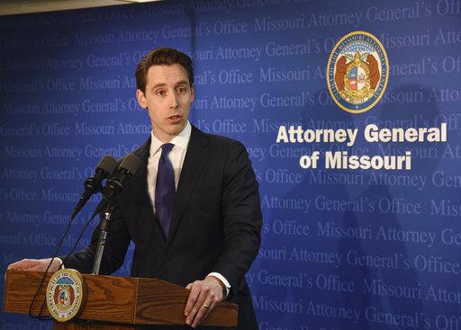 Attorney General Josh Hawley