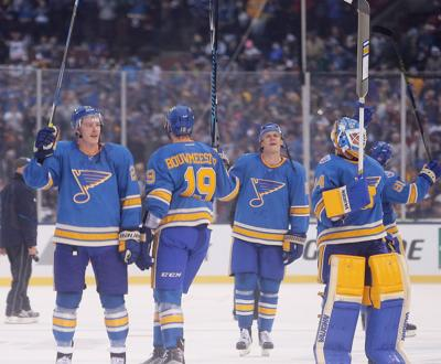 hot sale online 1ea4e 8df55 Blues break out Winter Classic jerseys again | St. Louis ...