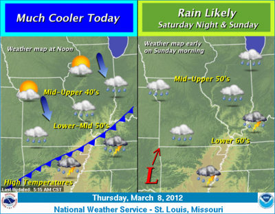 Rainy and cool in St  Louis area today | Illinois | stltoday com