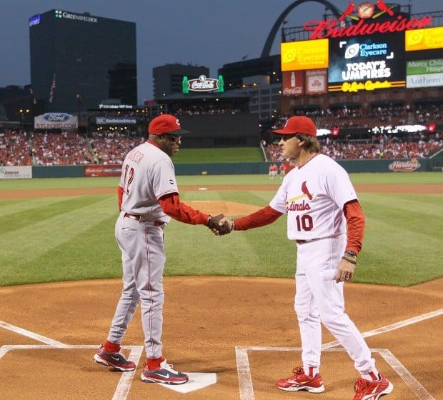 Bernie Baker S Obsession Honors La Russa St Louis Cardinals Stltoday Com