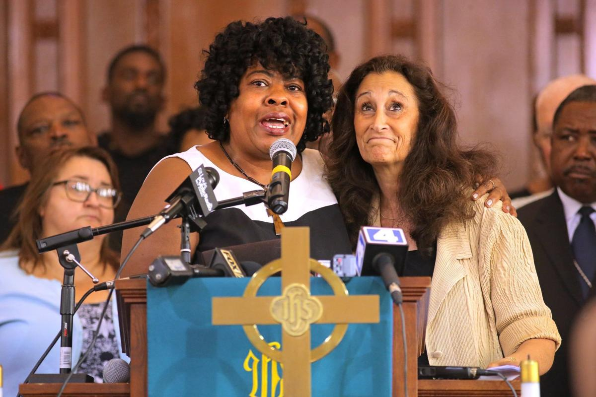 Clergy speak out against weekend arrests at Galleria