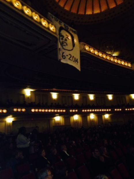 Michael Brown protest at St. Louis Symphony