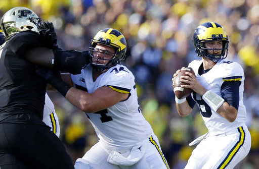 Michigan Quarterback Wilton Speight Out 'Multiple Weeks'