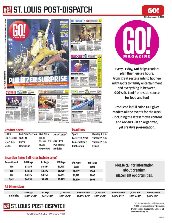 St. Louis Post-Dispatch go!