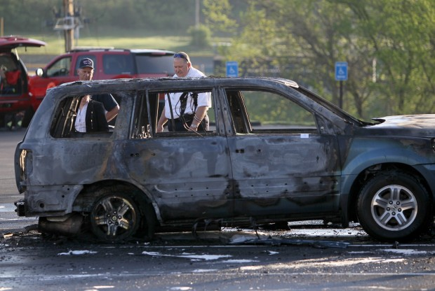 Arsonist burns two vehicles parked at Missouri Baptist Univeristy