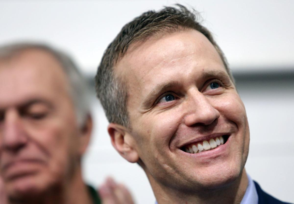Governor-Elect Eric Greitens Thank You Tour stops in Maryland Heights