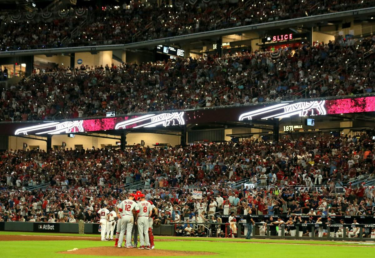St. Louis Cardinals vs Atlanta Braves, Game 1 NLDS in Atlanta