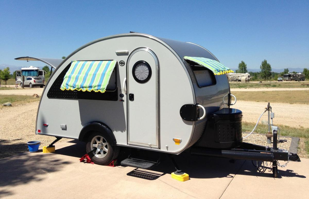 Pre Owned Teardrop Trailers For Sale - Tab teardrop trailer