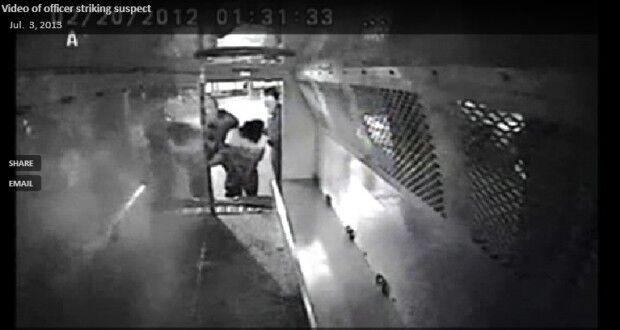 Police video still