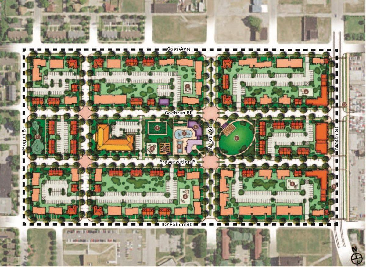 Redesigned Preservation Square layout