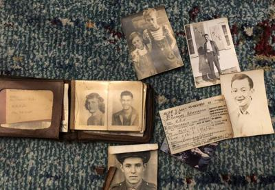 Wallets found from the 1940s in old Centralia (Ill.) High School building