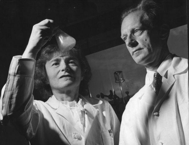 Drs. Gerty Cori and Carl Cori