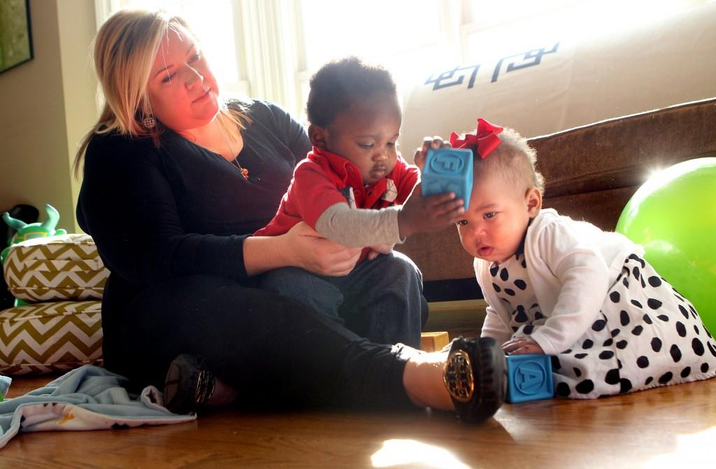 Modeling was a happy accident for Florissant toddler   Metro