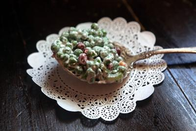 Mother-in-Law House pea salad