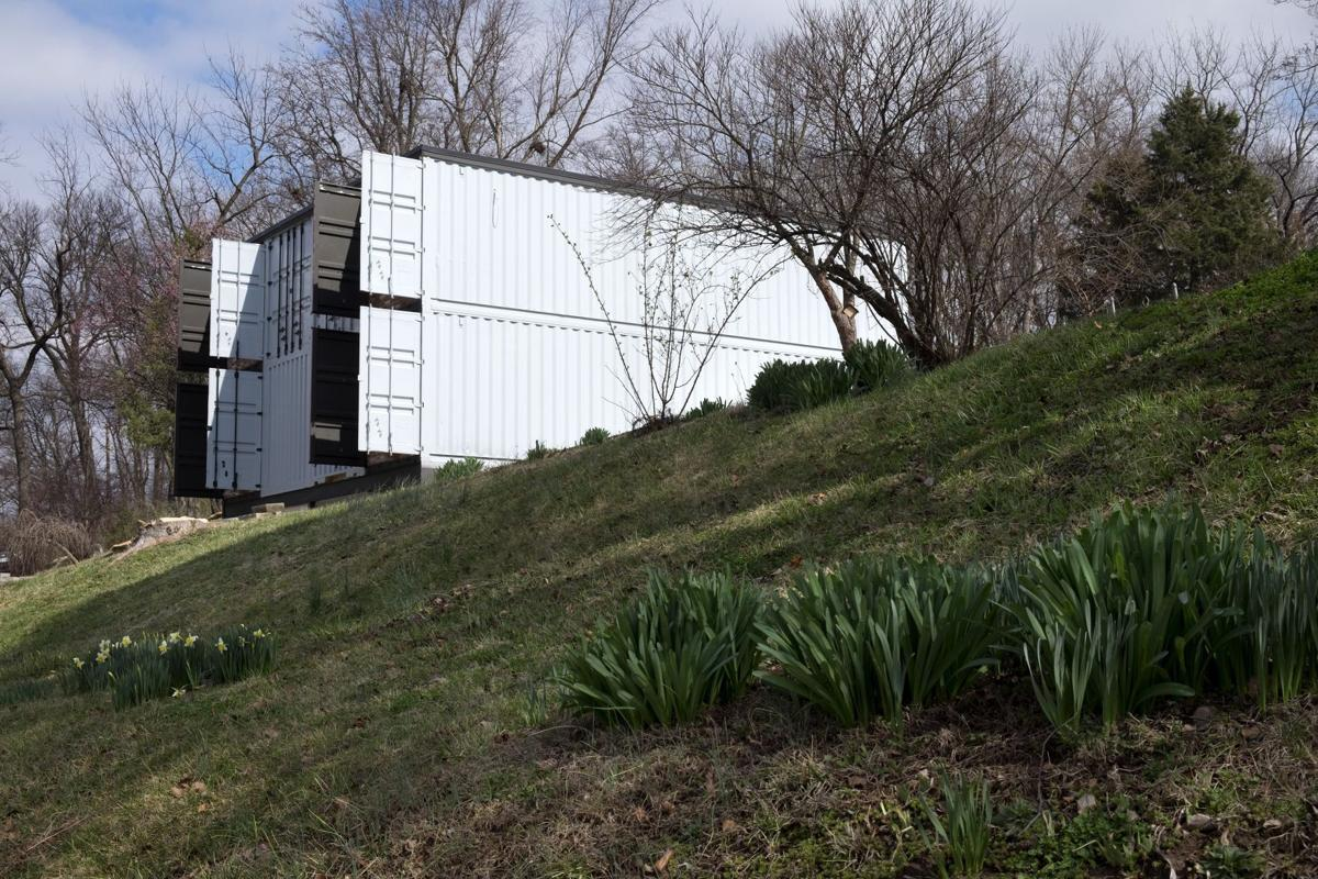 Smithey home built from shipping containers