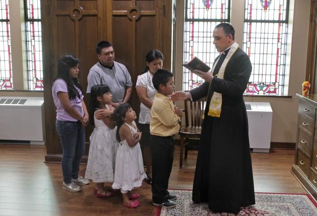 Spanish Mass celebrated at St. Cecilia Catholic Church
