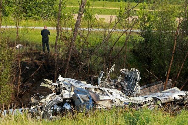 Plane crash on 364