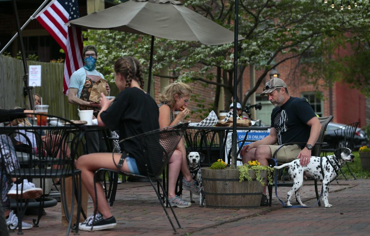 Main Street in St. Charles opens for business