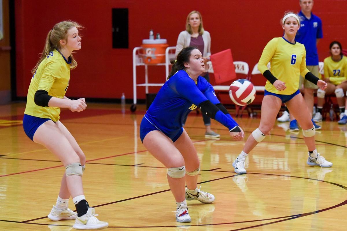 Borgia at Incarnate Word girls volleyball