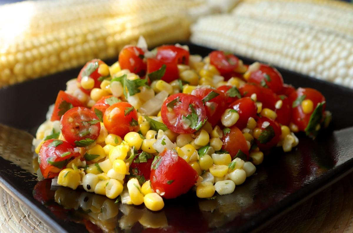 Fresh summer corn