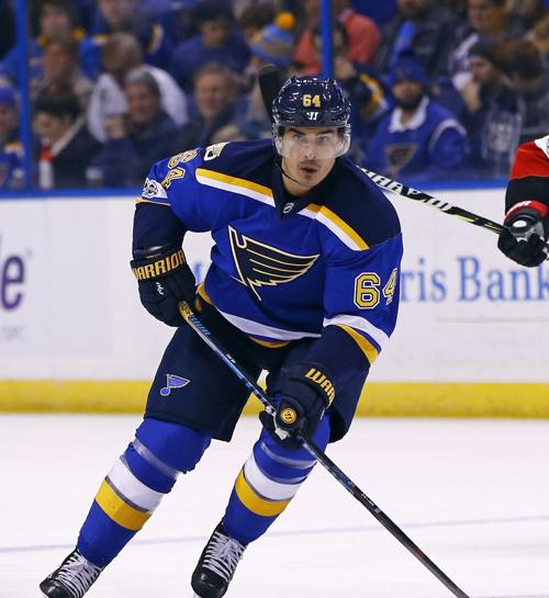 Senators Blues Hockey