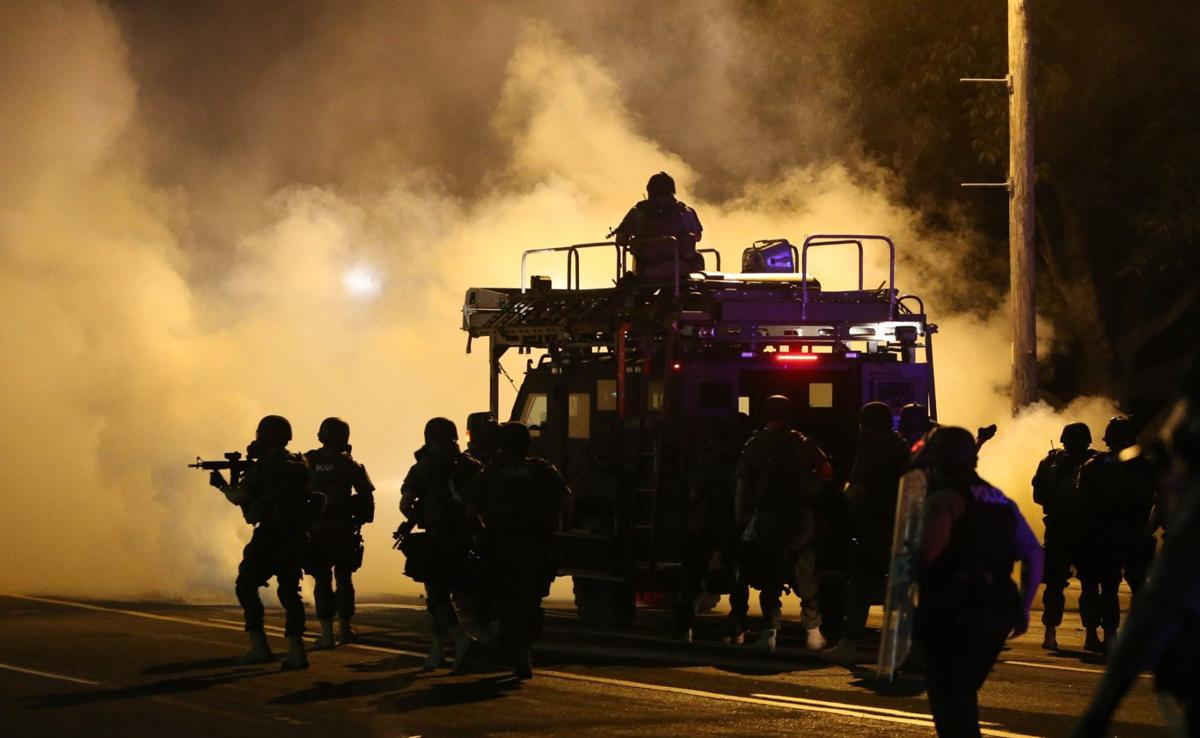 Ferguson Wednesday early morning