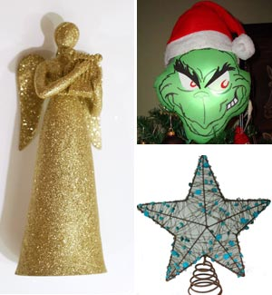 Christmas Tree Toppers Of Angel Star Grinch Stltoday Com