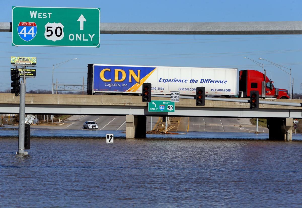 Interstate 44 reopens after Meramec flood water recedes
