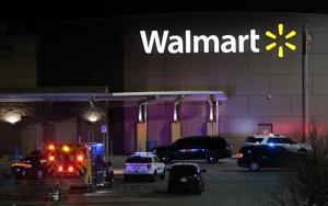 Calverton Πάρκο αστυνομικός εκτός υπηρεσίας πυροβόλησε, ενώ εργάζονται στο Φέργκιουσον Walmart