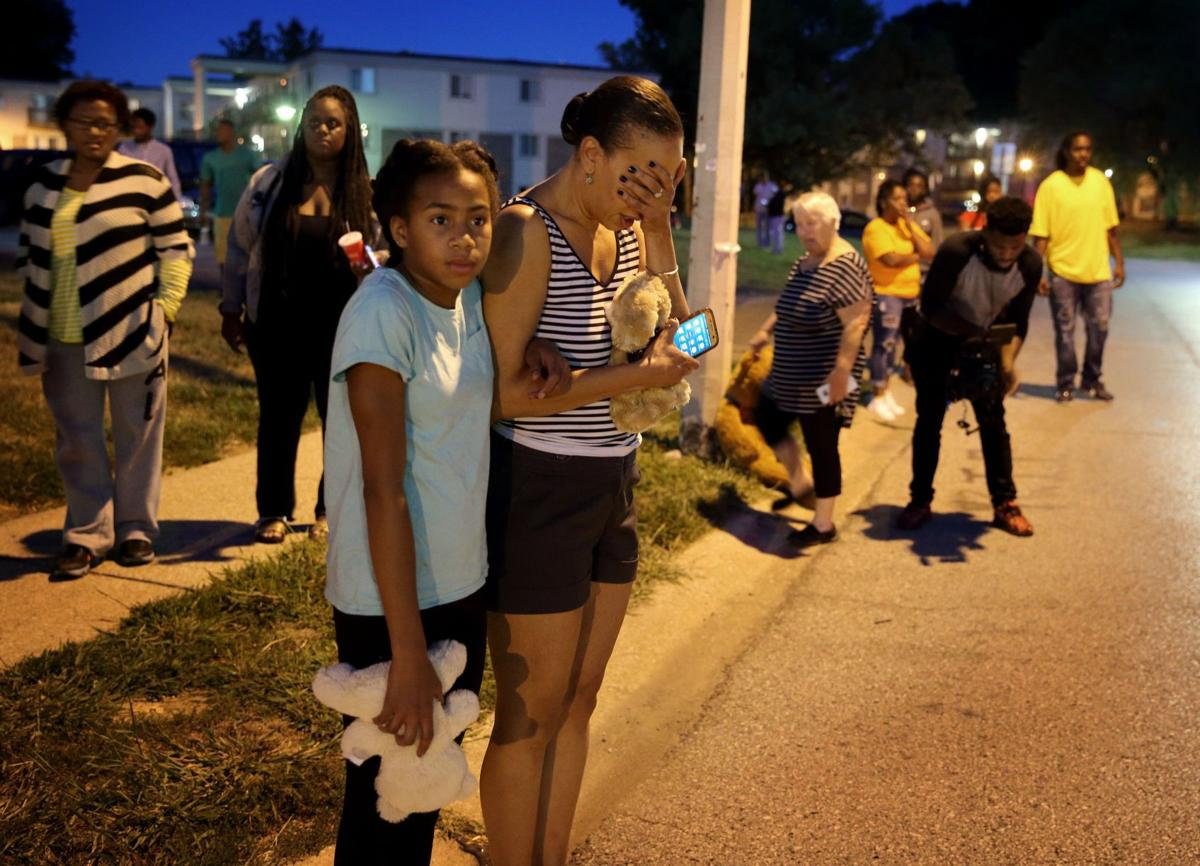 Michael Brown memorial rebuilt in Ferguson