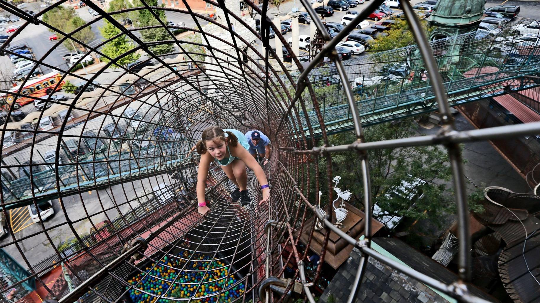 City Museum celebrates 20 years of 'organized crazy'