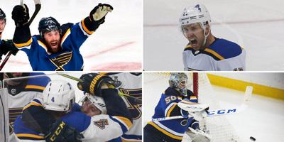 Blues playoff moments