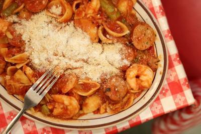 """""""Pasta Cuggiano"""" at Rigazzi's"""