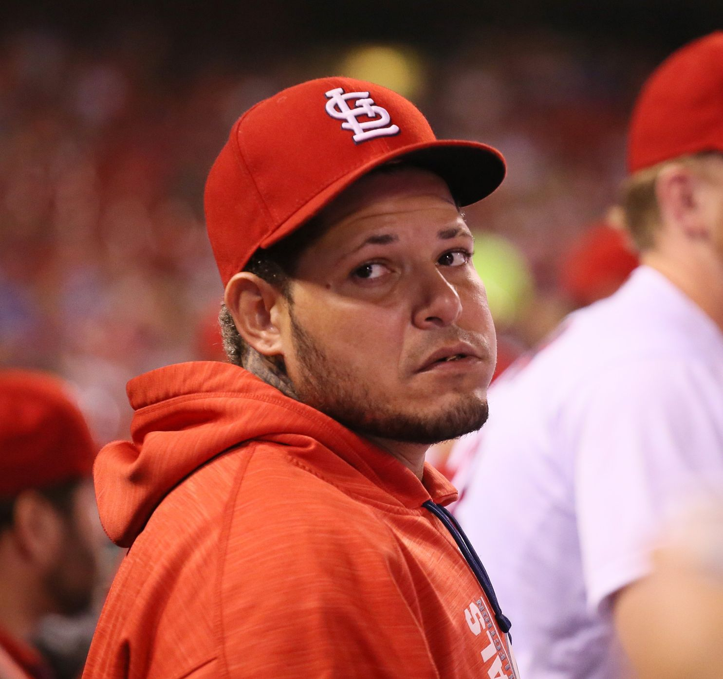 Yadier Molina wants to play again before the season is over