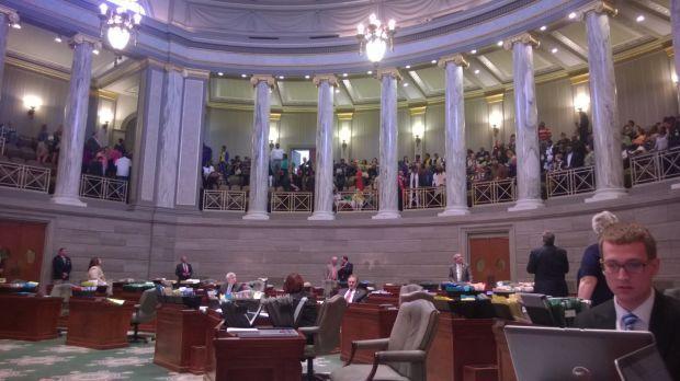 Protesters close Senate