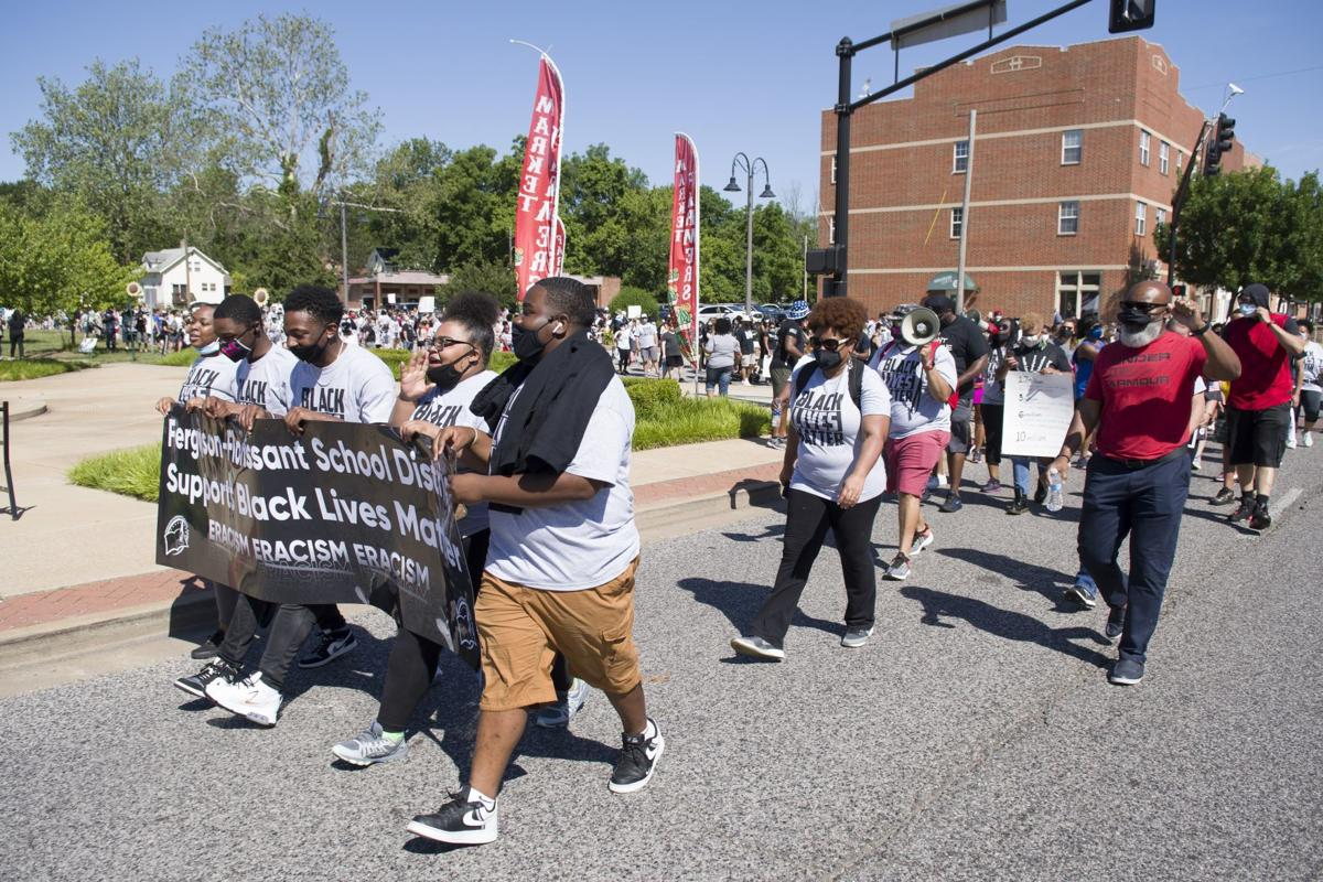 Photos: Ferguson-Florissant school district racial equality march