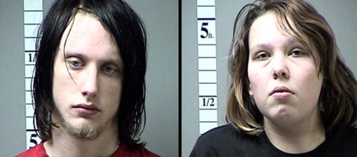 Robert Burnette and Megan Hendricks