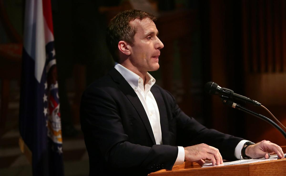 Greitens presents his budget at first press conference since affair reported