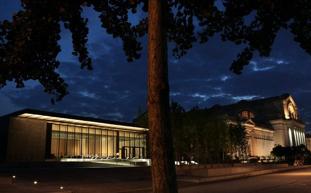 St. Louis Art Museum East Building approaches opening day