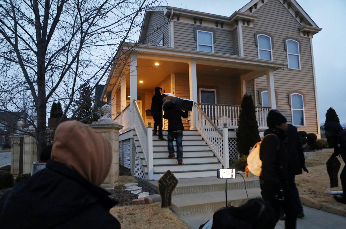 Protesters target Mayor Slay's house early Monday