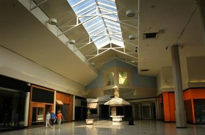 Mall walkers at the old Crestwood Court