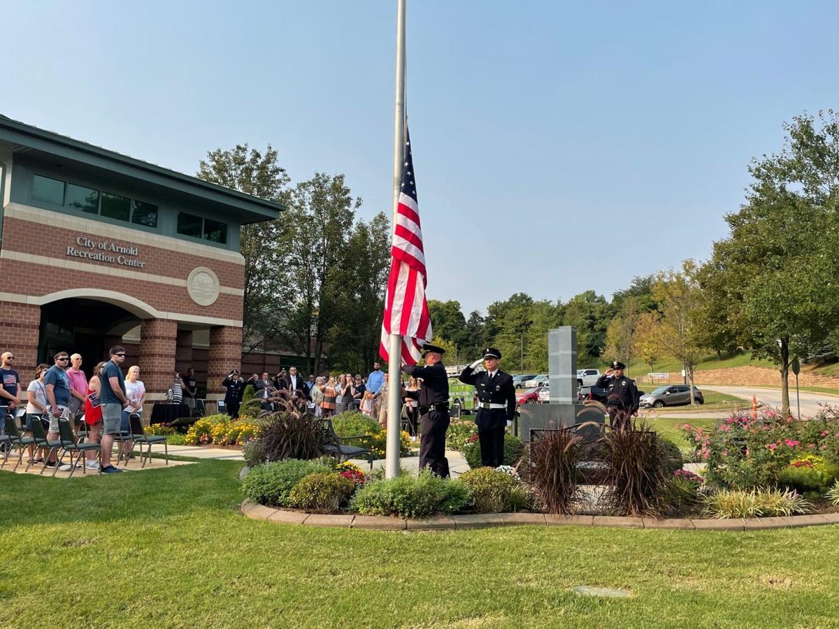 Arnold 9/11 ceremony