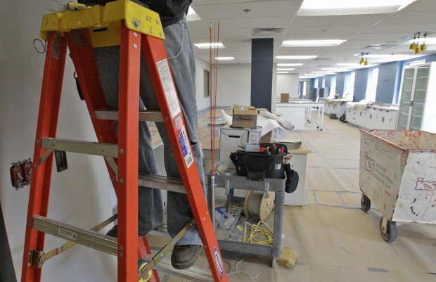 County police crime lab under construction