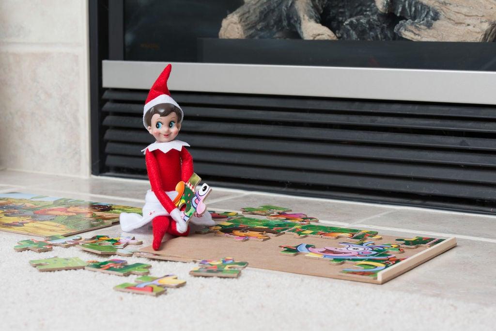 Creative ideas for the Elf on the Shelf