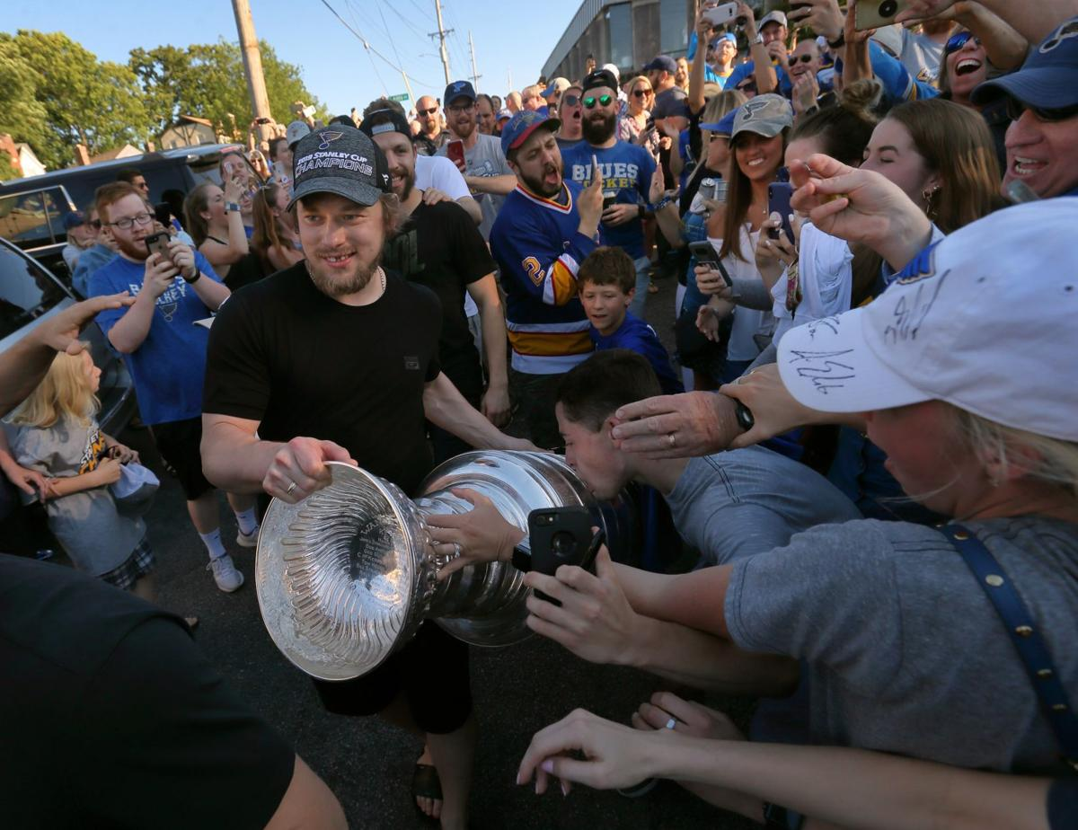 Photos: For Blues fans, the party is on!